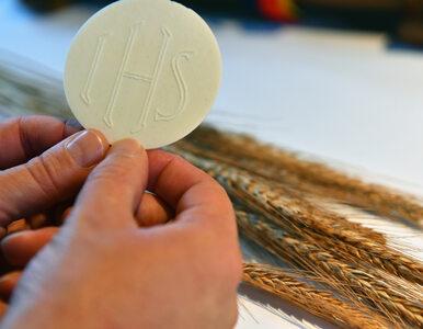Hostie bez glutenu? Polscy biskupi przypominają, że problem rozwiązali 8...