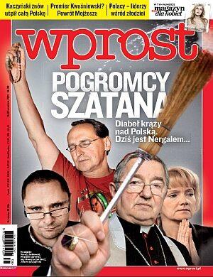 Okładka tygodnika Wprost nr 38/2011 (1493)