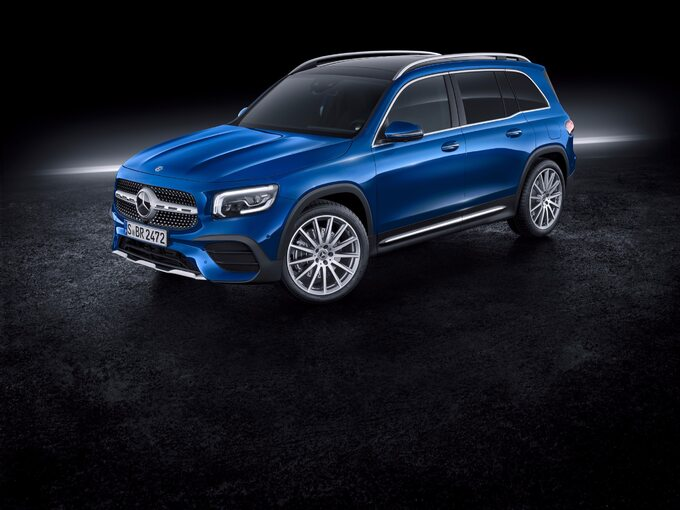 Nowy Mercedes-Benz GLB