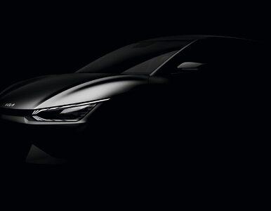 Nowy samochód elektryczny Kii. Są pierwsze zdjęcia EV6