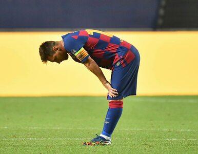 Messi załamany po laniu z Bayernem. Wyciekło nagranie z szatni Barcelony