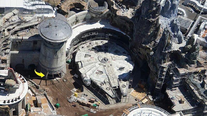 Zdjęcie parku rozrywki Star Wars: Galaxy Edge