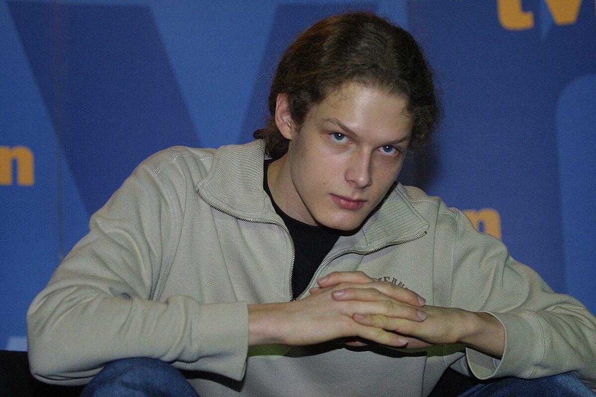 Adam Fidusiewicz w 2003 roku