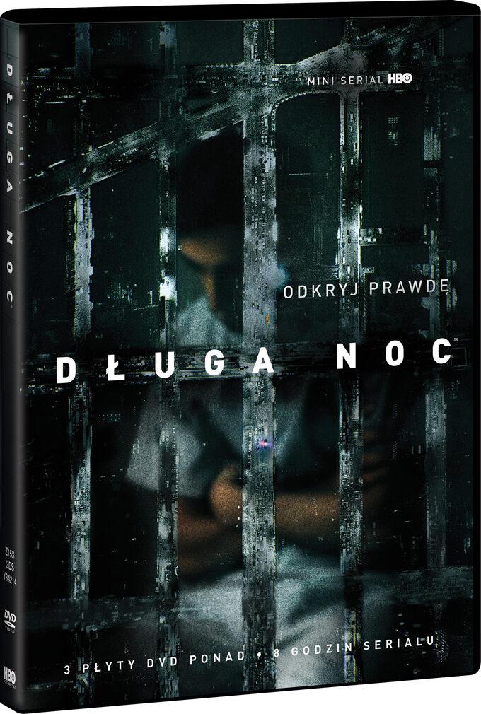 "okładka DVD serialu ""Długa Noc"" (2016)"