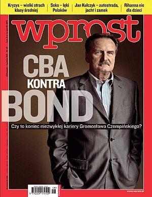 Okładka tygodnika Wprost nr 48/2011 (1503)
