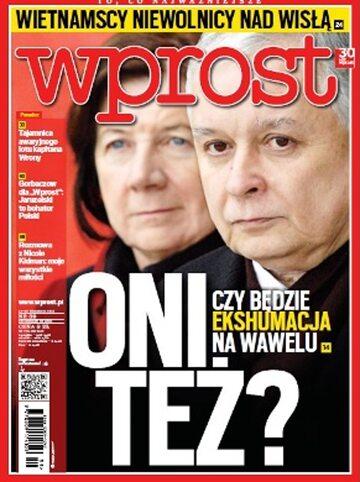 Okładka tygodnika Wprost nr 39/2012 (1545)
