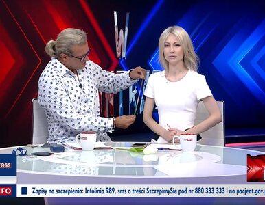 Jakimowicz mierzył Ogórek na antenie TVP Info, wcześniej dał jej...