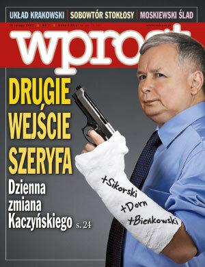Okładka tygodnika Wprost nr 7/2007 (1260)