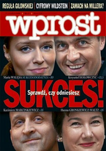 Okładka tygodnika Wprost nr 37/2006 (1239)