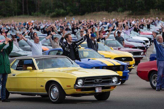Największy naświecie zlot Mustangów