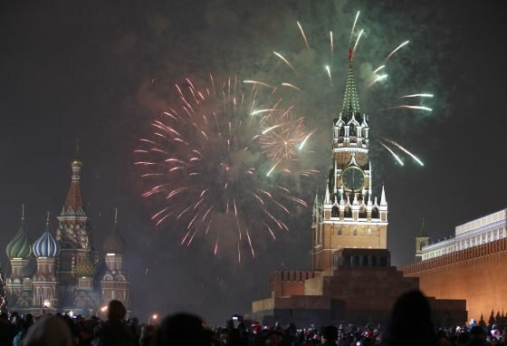 ...w Rosji... (fot. REUTERS/Tatyana Makeyeva/FORUM)