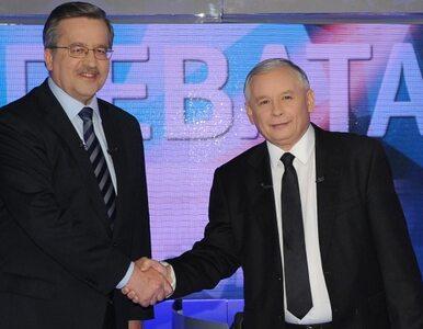 Komorowski wygrywa w miastach, Kaczyński - na wsi