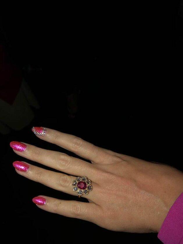 Pierścionek zaręczynowy Katy Perry