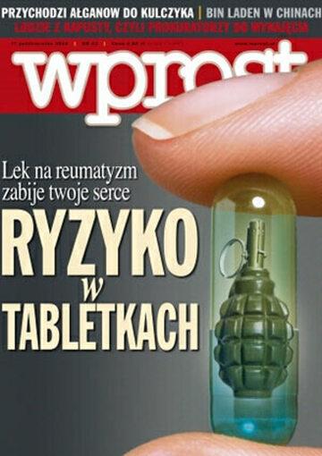 Okładka tygodnika Wprost nr 42/2004 (1142)