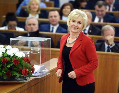 """Opozycja nie poprze kandydatury Lidii Staroń na RPO. """"To kandydatka..."""