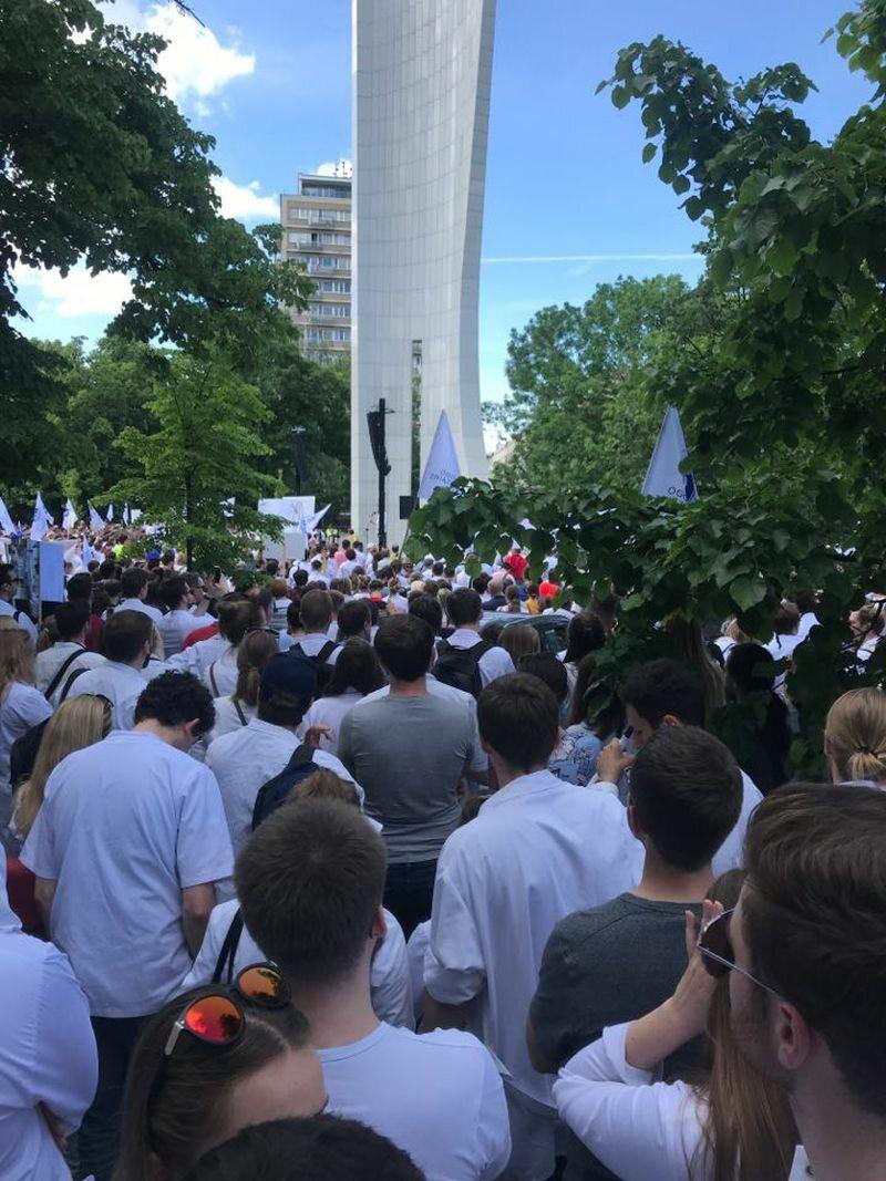 W sobotę 1 czerwca na manifestację do Warszawy przyjechali...