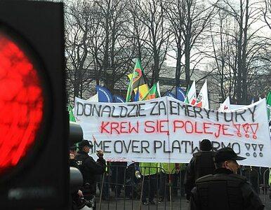 """""""Za emerytury krew się poleje"""". Protest pod Sejmem"""