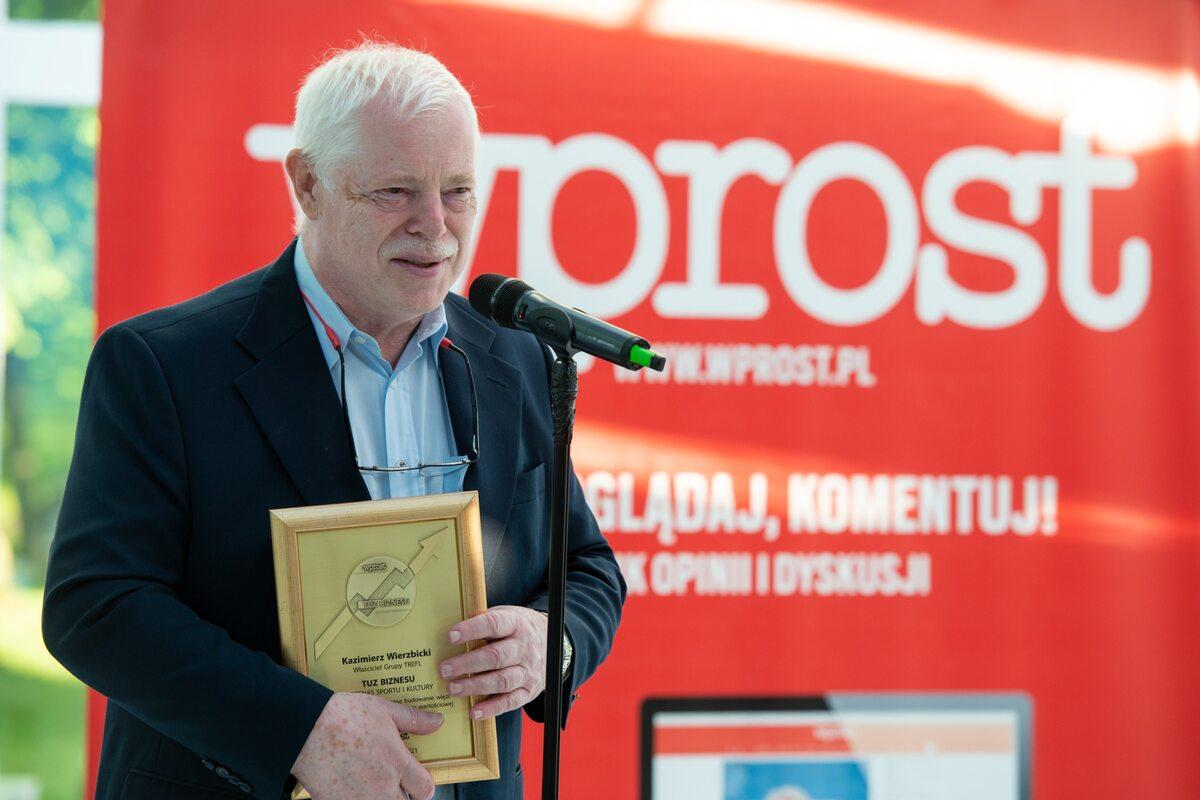 Kazimierz Wierzbicki, twórca i właściciel Grupy Trefl