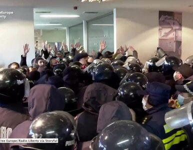 Niespokojnie w Gruzji. Lider opozycji zatrzymany podczas szturmu na...