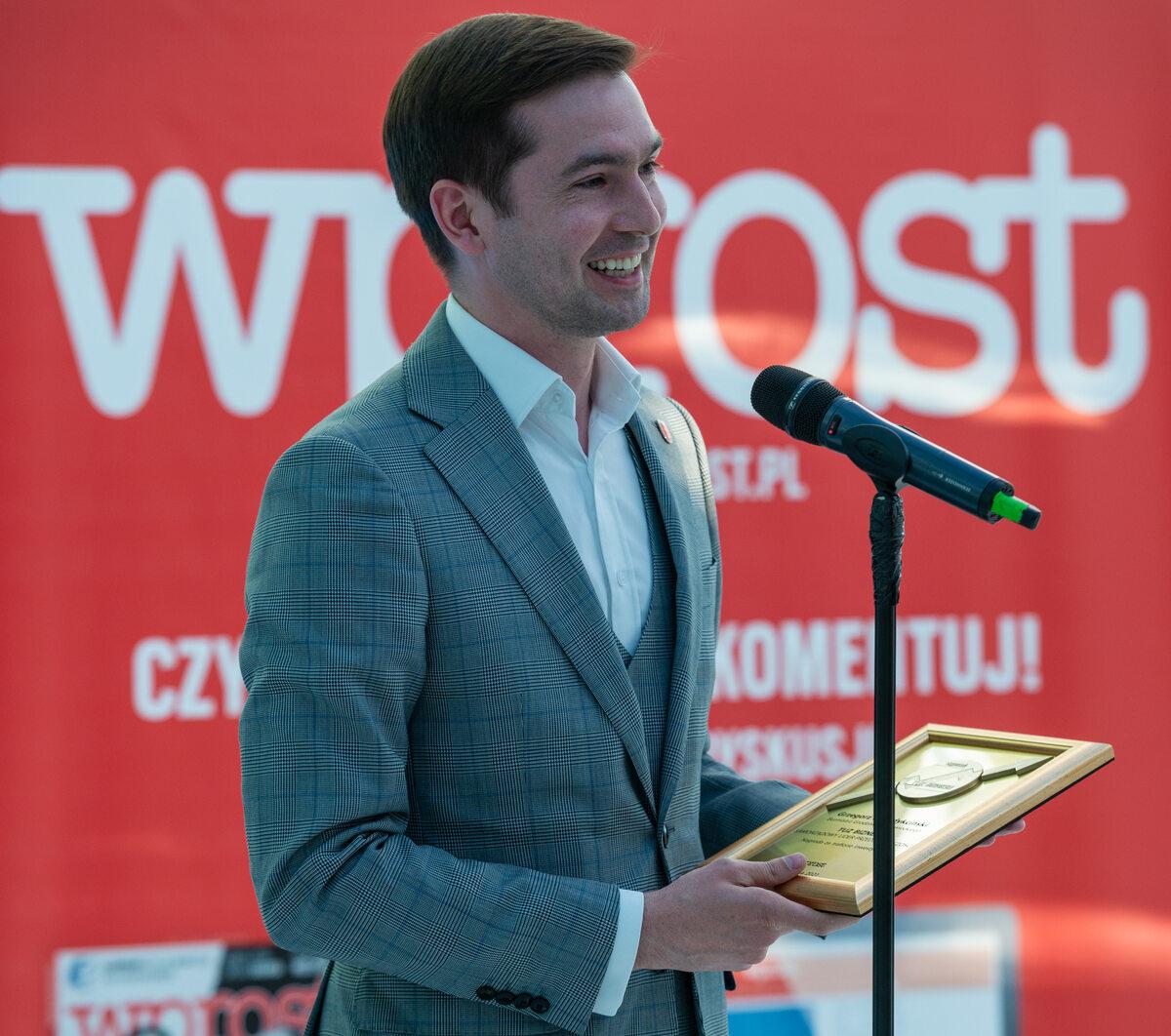 Tomasz Krupski, wiceburmistrz Grodziska Mazowieckiego