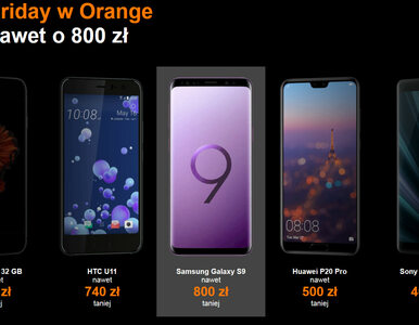 Do 800 zł taniej za Iphone'a 6s i Samsunga S9+