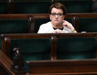 Czy PiS się wstydzi minister Zalewskiej?