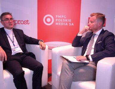 """Medycyna na UKSW. Gościem """"Wprost"""" rektor UKSW ks. prof. dr hab...."""