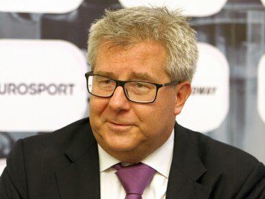Ryszard Czarnecki zostanie szefem Polskiego Komitetu Olimpijskiego?
