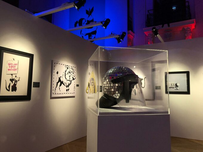 Wystawa prac Banksy`ego wCentrum Praskim Koneser