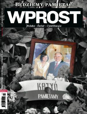 Okładka tygodnika Wprost nr 17/2010 (1420)