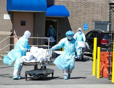 Kolejna tragiczna doba w USA. W Nowym Jorku więcej ofiar koronawirusa...
