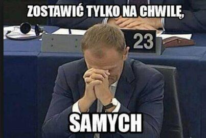 """""""Tusk: Zostawić was na chwilę samych"""". Najlepsze memy po wyborach"""
