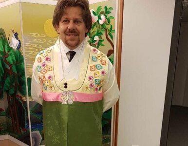 Poseł Nowoczesnej w nietypowym stroju. Dlaczego się tak ubrał?