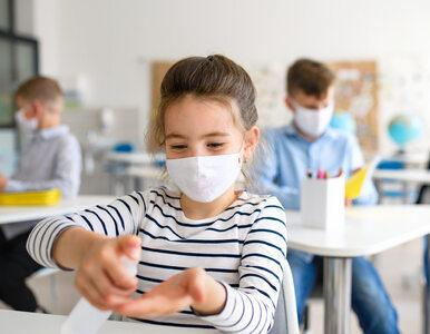 W szkołach bez obowiązkowych maseczek jest dwa razy więcej przypadków...
