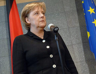 Merkel: Środkami wojskowymi nie rozwiąże się tego kryzysu