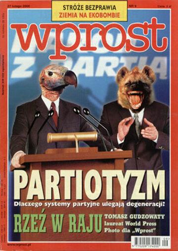 Okładka tygodnika Wprost nr 9/2000 (900)