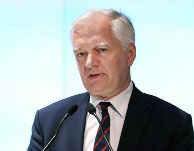 """Jarosław Gowin: 8 tysięcy """"na rękę"""" w dużych miastach to nie są wysokie..."""