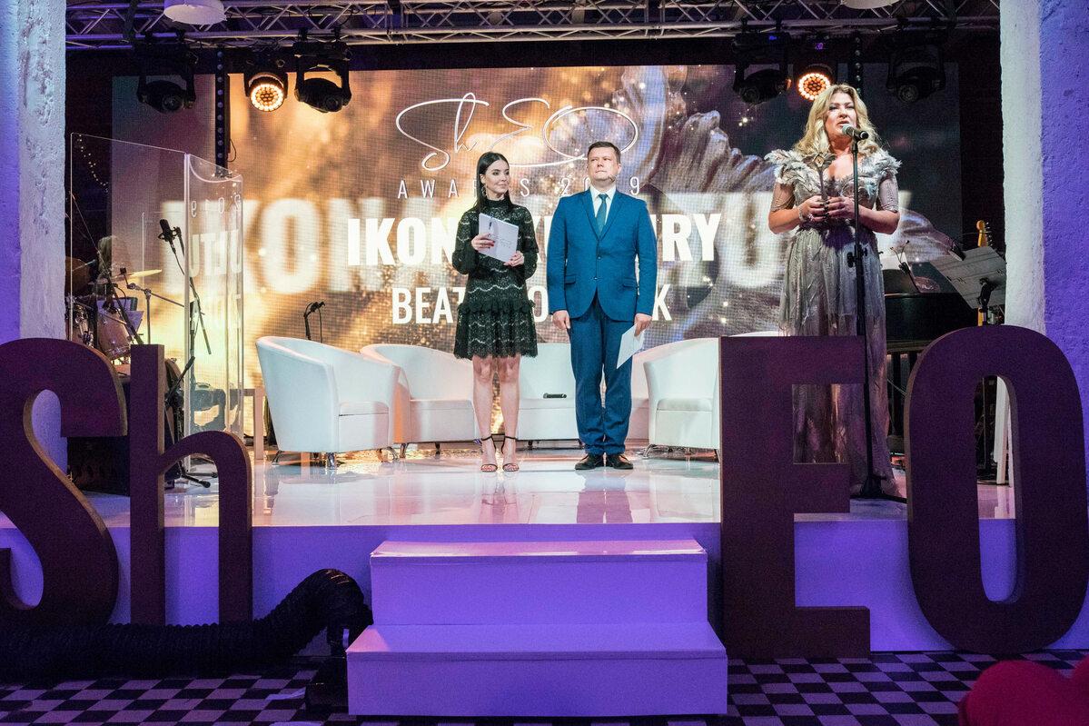 Beata Kozidrak, laureatka nagrody ShEO Awards