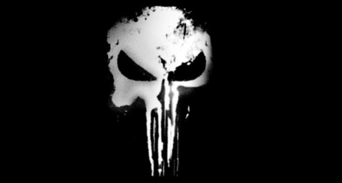 """Logo serialu """"Punisher"""""""