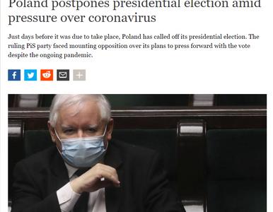 Zagraniczne media piszą o przełożonych wyborach w Polsce. Zwracają uwagę...