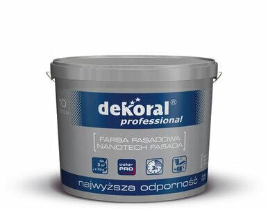 Renowacja spękanych fasad - system Dekoral Professional opracowany na...