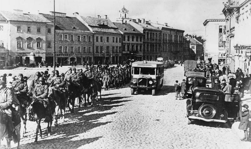 Wkroczenie Armii Czerwonej do Wilna 19 września 1939