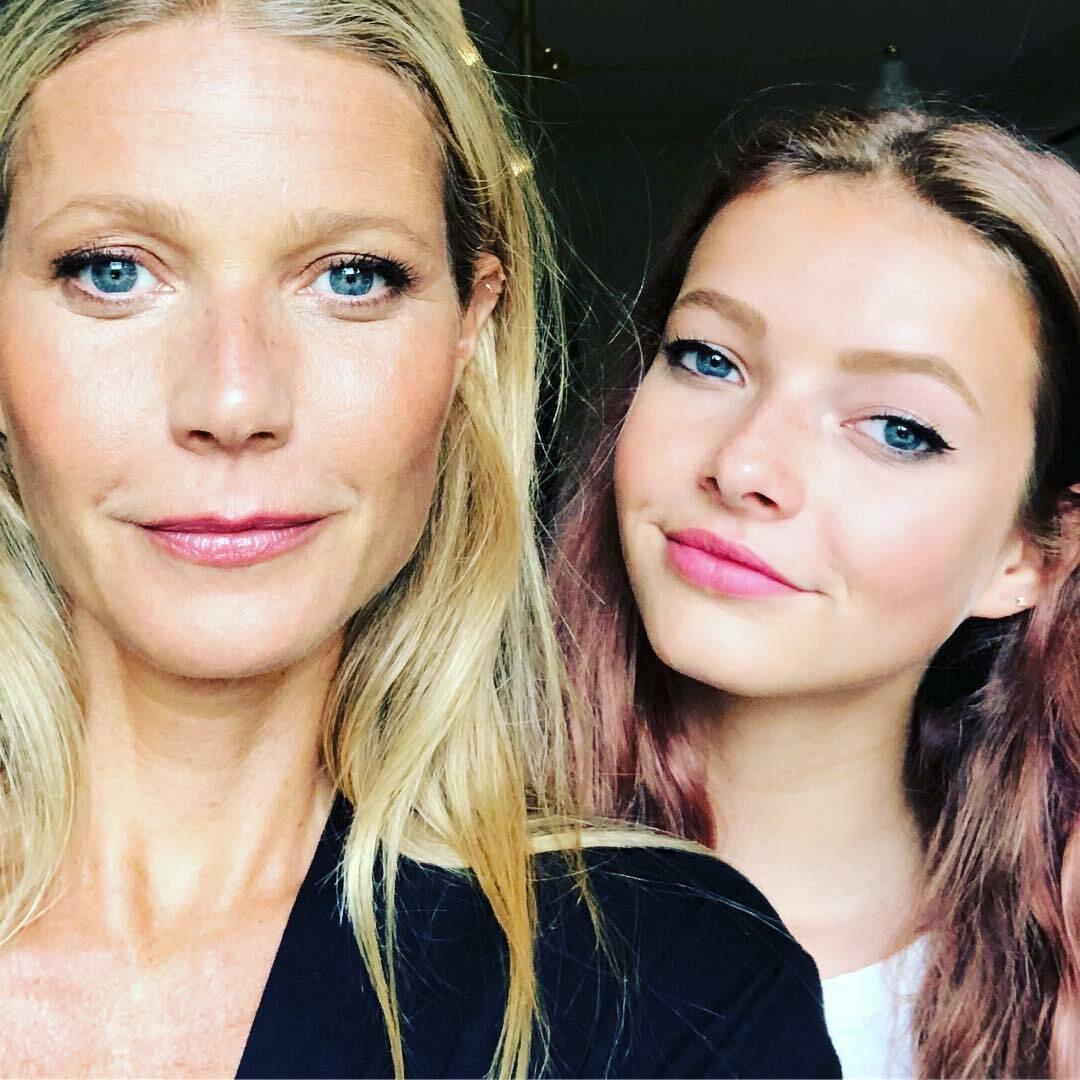 Gwyneth Paltrow i jej córka Apple