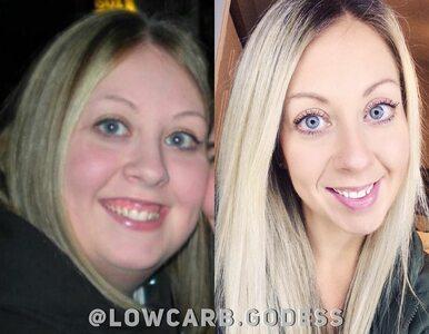 """Syn powiedział jej, że jest gruba, schudła 60 kg. """"Byłam na dnie"""""""