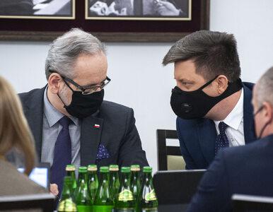 NA ŻYWO: Konferencja ministra zdrowia, szefa KPRM i rzecznika rządu....