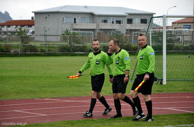 Polacy sędziują naIslandii