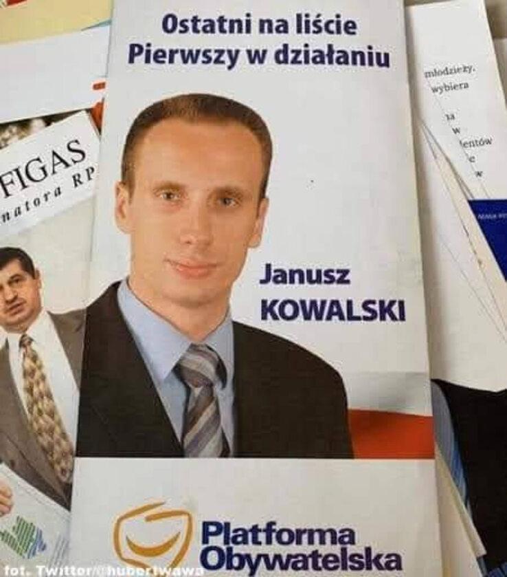 Janusz Kowalski był przed laty związany z PO