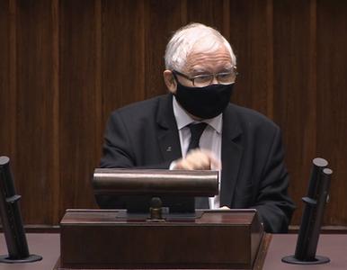 PiS poprawia ustawę, którą samo przegłosowało. Kaczyński winą obarcza...