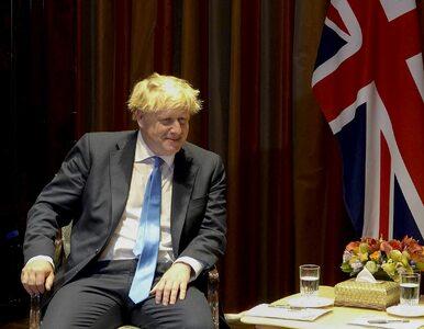 """Parlament Europejski skomentował propozycję Johnsona. """"Nie pasuje nawet..."""