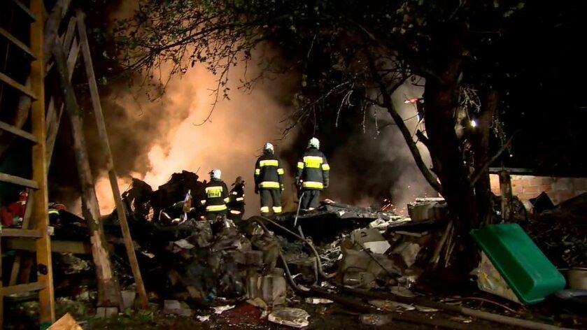Dwie osoby zginęły w eksplozji pod Łodzią